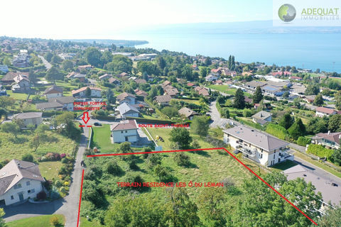 Évian-Les-Bains villa neuve. 970700 Évian-les-Bains (74500)