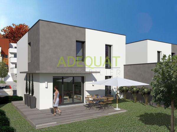 Annonce vente maison l 39 isle d 39 abeau 38080 105 m 255 for Jardin villa contemporaine