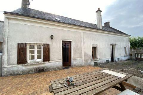 Charmante Maison de Bourg à rénover 185000 Chemellier (49320)