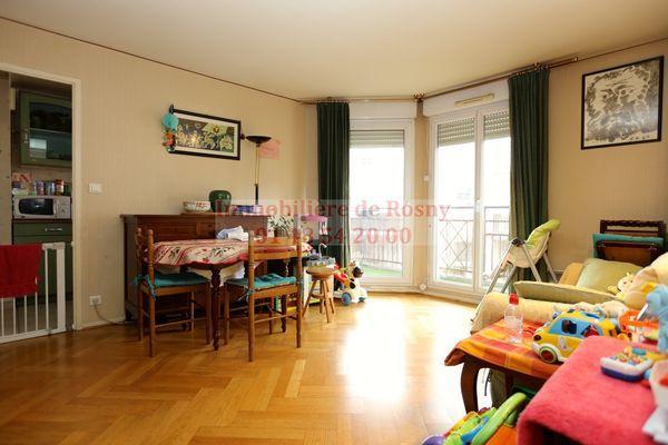 Vente Appartement Appartement 2/3 pièces 53m2 plein centre-ville Rosny-sous-Bois  à Rosny-sous-bois