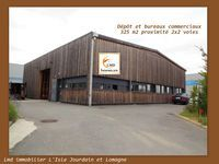 Dépôt et bureaux commerciaux secteur ouest Toulousain 2400