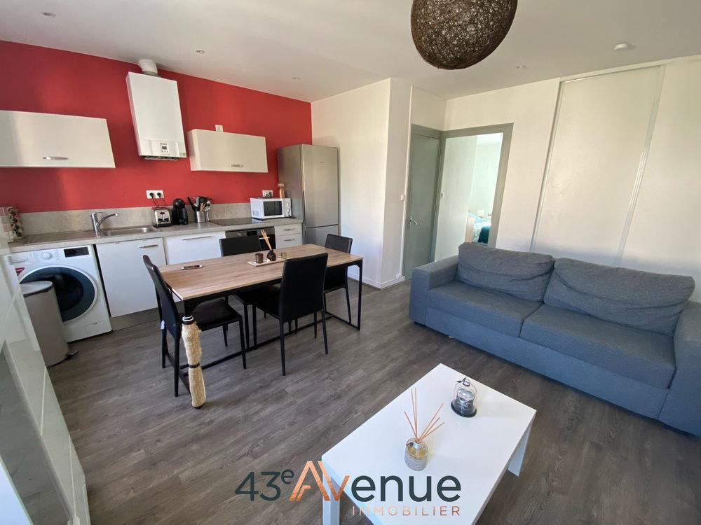 Location Appartement MONISTROL SUR LOIRE, à proximité de toutes les commodités, appartement deux chambres de 48,45m2! Monistrol sur loire