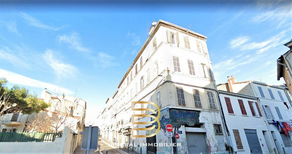 Vente Appartement Studio de 19 m2 idéal investisseur quartier Belle de Mai 13003 Marseille 3