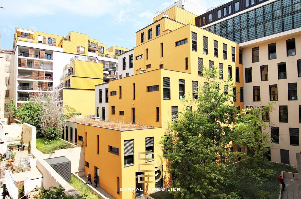 Vente Appartement Appartement de type 3 de 50m2 quartier Joliette / République 13002 Marseille 2