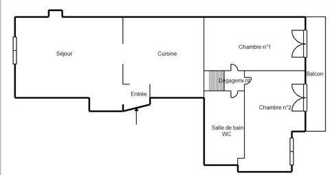 THONON CENTRE VILLE Rue Pietonne - Charmant Type 3 de 72 m2 769 Thonon-les-Bains (74200)