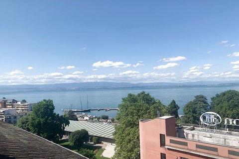 EVIAN - Charmant appartement Type 2 meublé de 56 m2 avec magnifique vue sur le lac 695 Évian-les-Bains (74500)