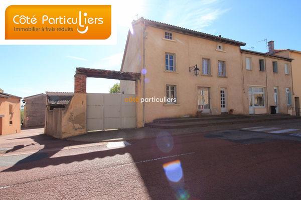Annonce vente maison balbigny 42510 200 m 104 990 for Vente maison avec atelier