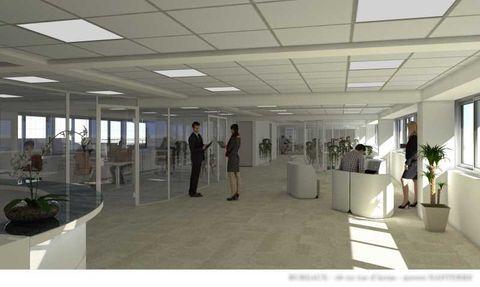 Bureaux - A VENDRE - 2095 m² divisibles à partir de 315 m² 8380000 92000 Nanterre