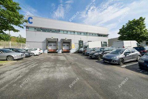 Locaux d'activité - A LOUER - 608 m² non divisibles 8105 94200 Ivry sur seine