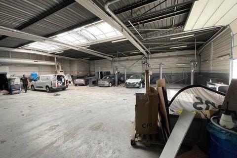Locaux commerciaux - A LOUER - 738 m² non divisibles 9225 95140 Garges les gonesse