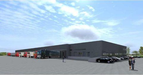 Entrepôts - A LOUER - 6 606 m² divisibles à partir de 3 172 m² 45978 91380 Chilly mazarin