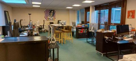 Bureaux - A LOUER - 190 m² non divisibles 5542 92300 Levallois perret