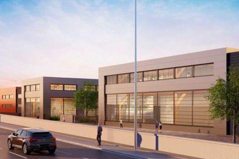 Parc d'activité neuf et qualitatif - 874 m² non divisibles 10558 93230 Romainville