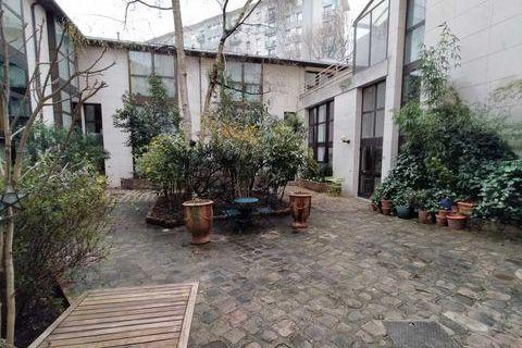 Bureaux - A LOUER - 86 m² non divisibles 2617 75019 Paris