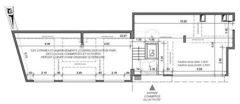 Locaux commerciaux - A LOUER - 120 m² non divisibles 2500 91260 Juvisy sur orge