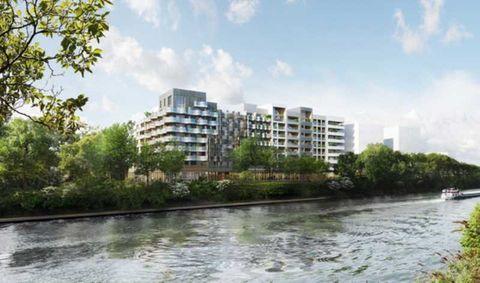 Local commercial au coeur du quartier Eco Fluvial - 279 m² divisibles à partir de 121 m² 2603 93450 L'ile saint denis
