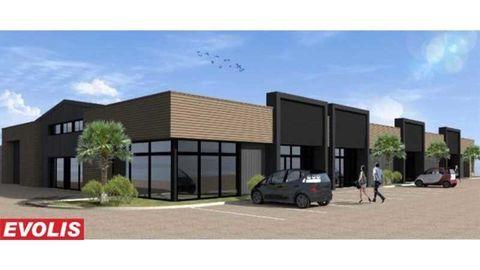Locaux commerciaux - A LOUER - 230 m² non divisibles 2084 33360 Latresne