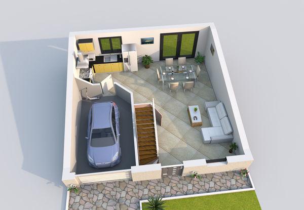 baticonfort maison 6 pi ce s 90 m fontainebleau 77 vendre 1030247 1029682 2519118. Black Bedroom Furniture Sets. Home Design Ideas