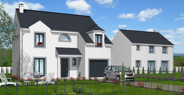 baticonfort maison 6 pi ce s 120 m dammarie les lys. Black Bedroom Furniture Sets. Home Design Ideas