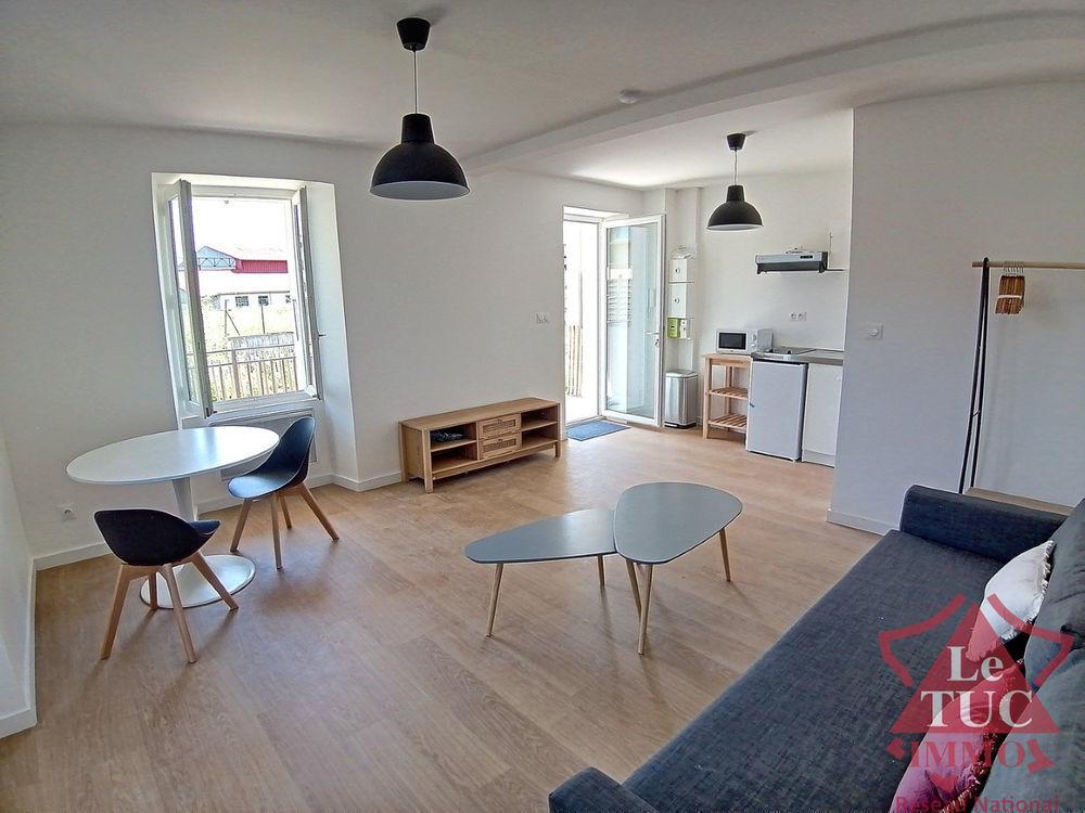 Location Appartement STUDIO MEUBLE 25 m2 en rez de jardin avec terrasse + cave à THONON Thonon les bains