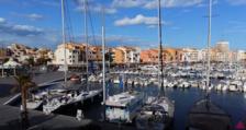 Cap d'Agde a louer a l'année beau deux pièces belle vue port 598 Le Cap D Agde (34300)