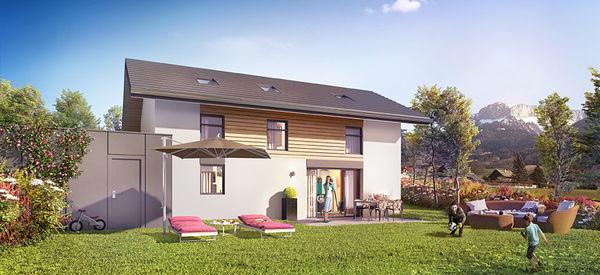 Annonce vente maison villaz 74370 106 m 467 000 for Vente maison neuf