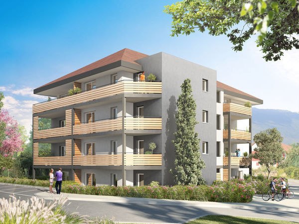 Annonce vente appartement valleiry 74520 61 m 258 for Appartement t3 neuf