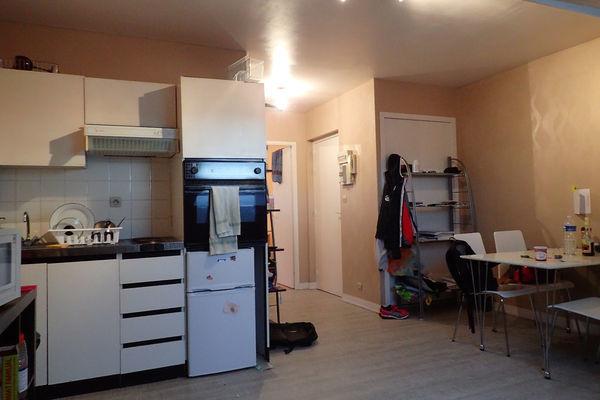annonce vente appartement brest 29200 28 m 66 500 992737899955. Black Bedroom Furniture Sets. Home Design Ideas
