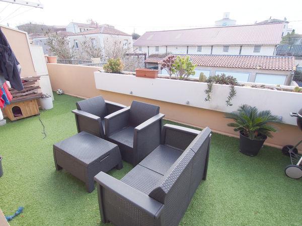 Annonce vente appartement marseille 15 70 m 156 000 for Appartement marseille avec terrasse