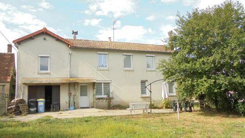 Maison en pierre de 5 pièces principales 88000 Dun-le-Palestel (23800)