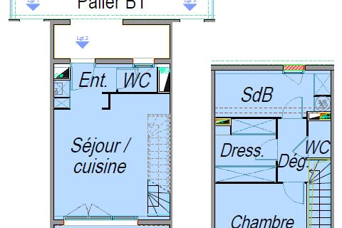 Location Duplex/triplex Pessac (33600)