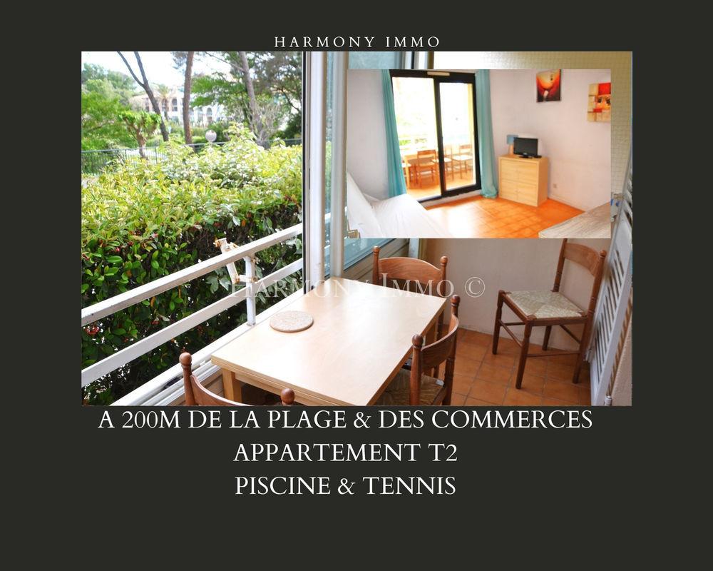 Vente Appartement Paisible T2 à 200m de la plage & des commerces à Six-Fours-Plages-83140 (Var) Six fours les plages