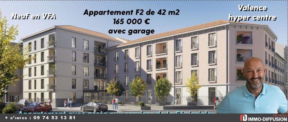 Vente Appartement 2 Pièces Valence