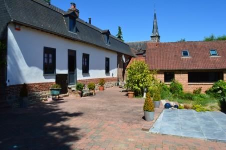 Annonce vente maison raincheval 80600 305 m 355 000 992738492992 - Corps de ferme renove ...