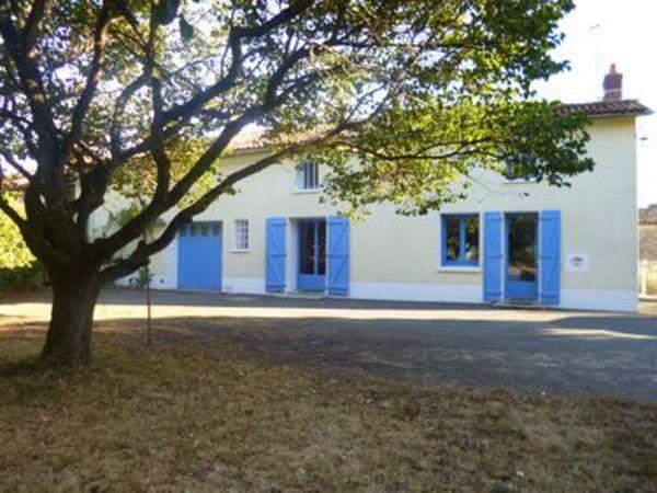 Annonce vente maison saint gaudent 86400 106 m 108 000 992738565017 - Une maison un jardin saez saint paul ...
