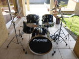 Batterie Sonor Force 1007 Stage 2 Black 0 Pamiers (09)