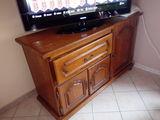 Beau meuble télévision en chene 140 Famechon (80)