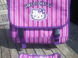 Cartable hello kitty, occasion d'occasion  Solrinnes (59)