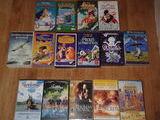 Lot de 15 VHS/cassette vidéo Disney et autres 10 Senlis (60)