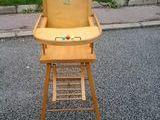 chaise haute en bois 25 Dieppe (76)