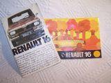 Occasion, Deux jolies notices renault 16 - 1977 d'occasion  Lyon 3 (69)