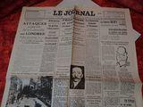 Journal de guerre (le journal 10 décembre 1940) d'occasion  Sotteville-lès-Rouen (76)
