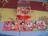 Lots de deux boites de puzzle-cube  Disney  3 Champagne (17)