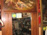 Miroir Trumeau cadre bois  160 Toulouse (31)