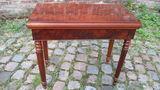 TABLE A JEU NAPOLEON III  ACAJOU 380 Leers (59)