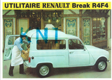 C p m   utilitaire renault break r4 fa d'occasion  Tours (37)