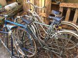 Lot de 10 vélos ancien  20 La Chaussaire (49)