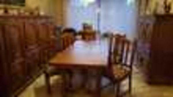 Salle à manger chêne massif (59) - 1 000 €
