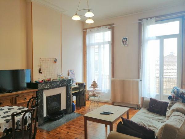 annonce location appartement saint etienne 42100 59 m 480 992737836742. Black Bedroom Furniture Sets. Home Design Ideas