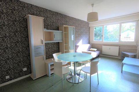 T1 meublé de 27m². 366 Chalon-sur-Saône (71100)